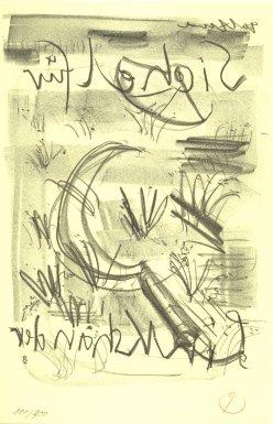 Sichel für Linkshänder, Beilage zur Jahresgabe der Pirckheimer-Gesellschaft 2003